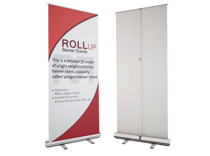 11 - BANNER ROLL-UP 85x200
